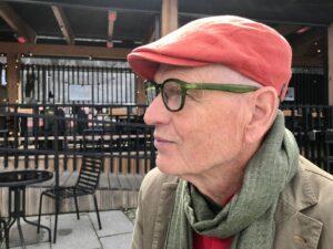 Anders Fagerlund med röd keps
